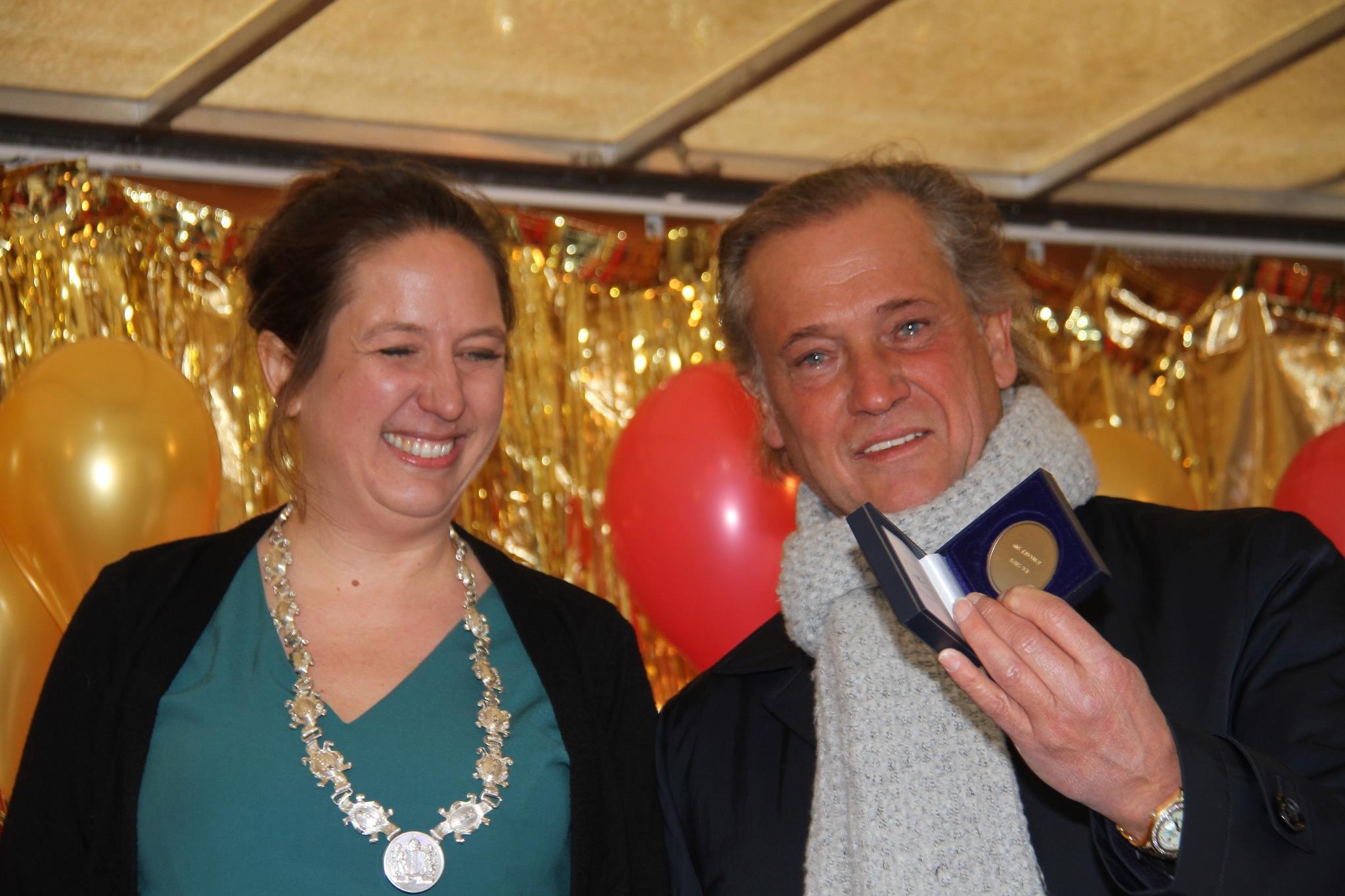 Frans Stuy ontvangt Andreaspenning in 2019